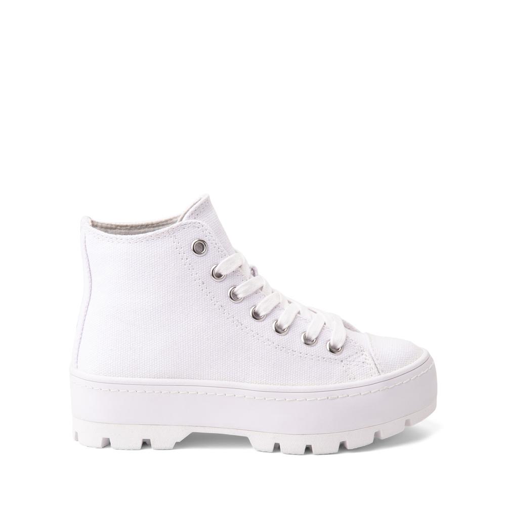 Steve Madden Shadow Lugged Sneaker - Little Kid / Big Kid - White