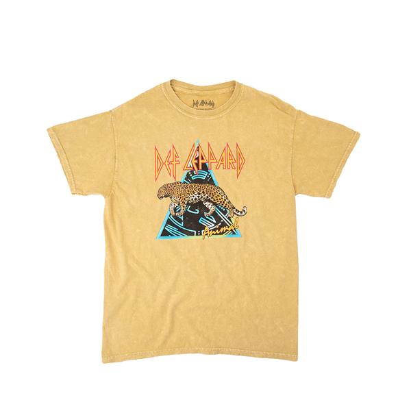 Main view of Def Leppard Animal Tee - Little Kid / Big Kid - Yellow