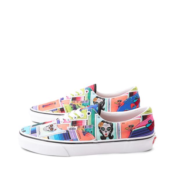 alternate view Vans Loteria Era Skate Shoe - Patchwork MulticolorALT1