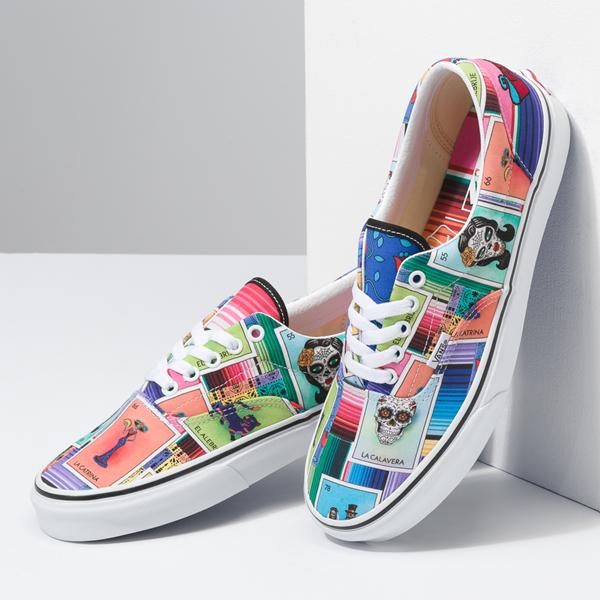 alternate view Vans Loteria Era Skate Shoe - Patchwork MulticolorALT1B