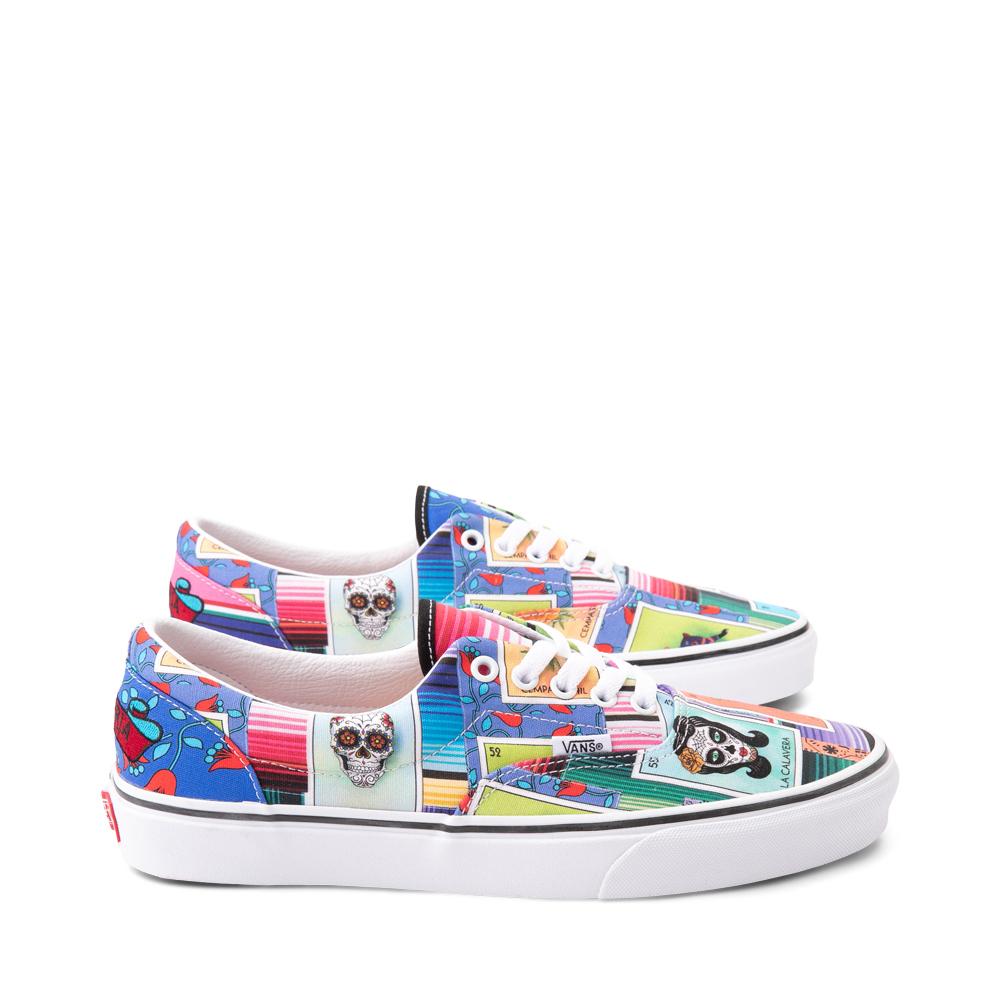 Vans Loteria Era Skate Shoe - Patchwork Multicolor