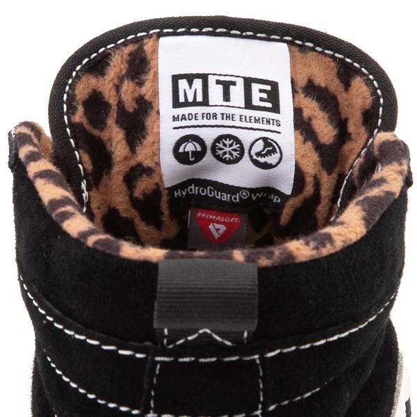 alternate view Vans Sk8 Hi MTE-1 Skate Shoe - Black / LeopardALT2C
