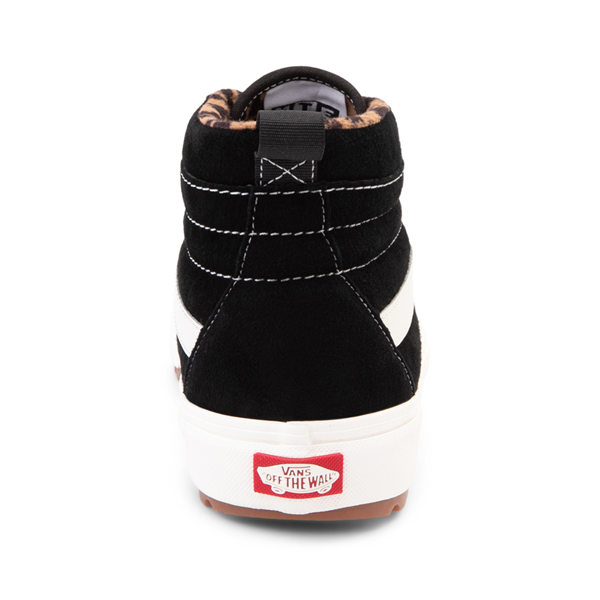 alternate view Vans Sk8 Hi MTE-1 Skate Shoe - Black / LeopardALT4