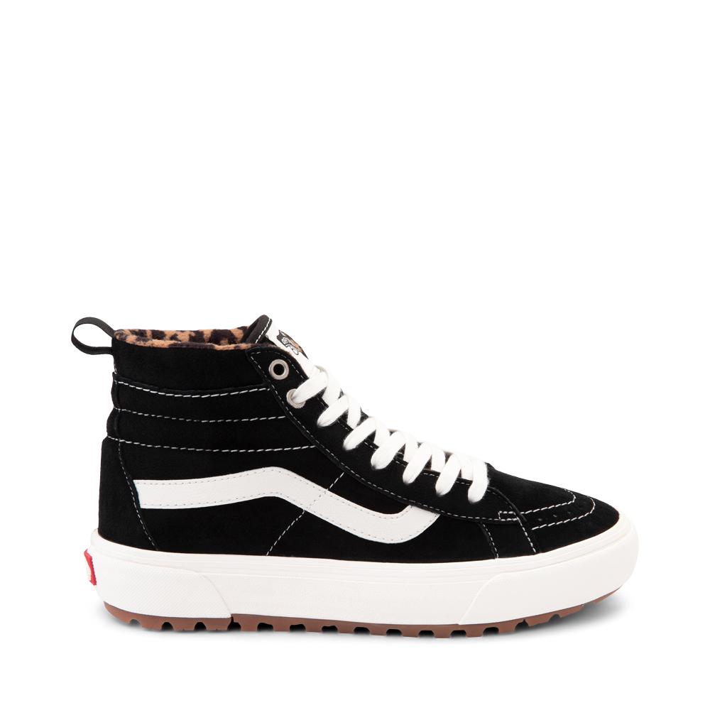Vans Sk8 Hi MTE-1 Skate Shoe - Black / Leopard