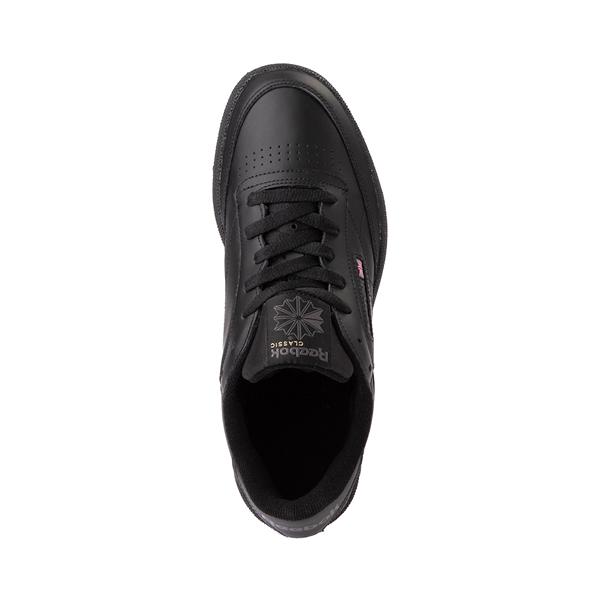 alternate view Mens Reebok Club C 85 Athletic Shoe - Black / CharcoalALT2