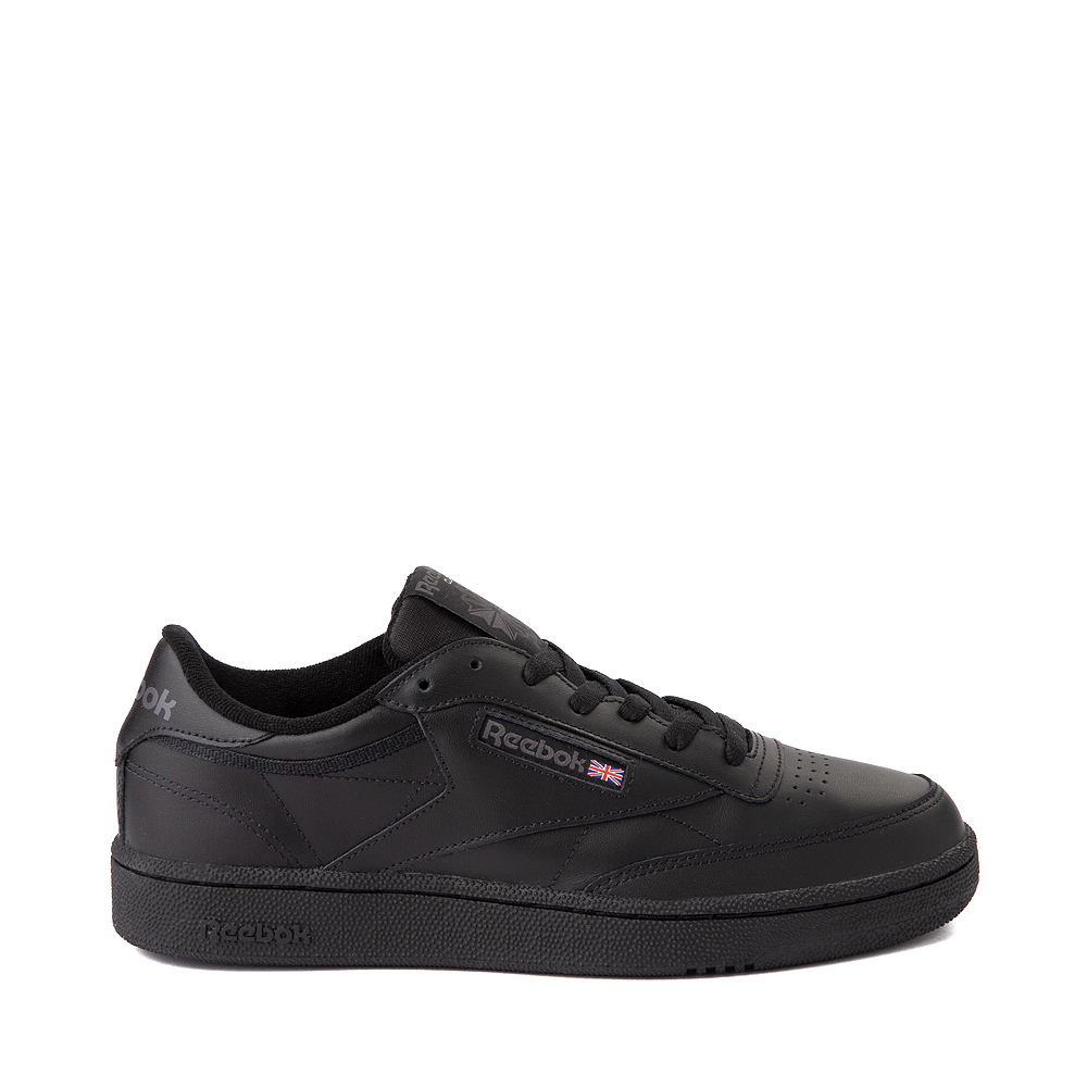 Mens Reebok Club C 85 Athletic Shoe - Black / Charcoal