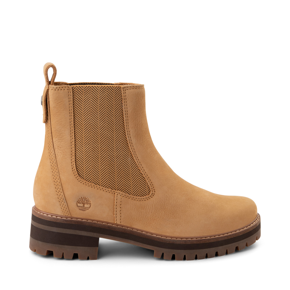 Womens Timberland Courmayeur Valley Chelsea Boot - Wheat