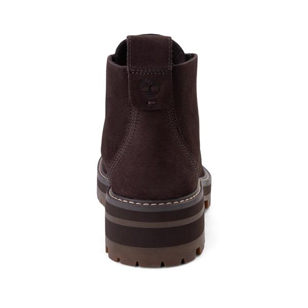 alternate view Womens Timberland Courmayeur Valley Chukka Boot - Dark BrownALT4