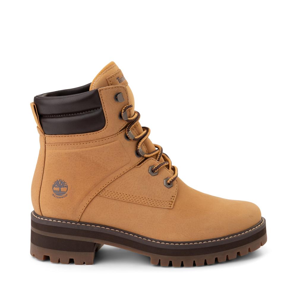 """Womens Timberland Courmayeur Valley 6"""" Boot - Wheat"""