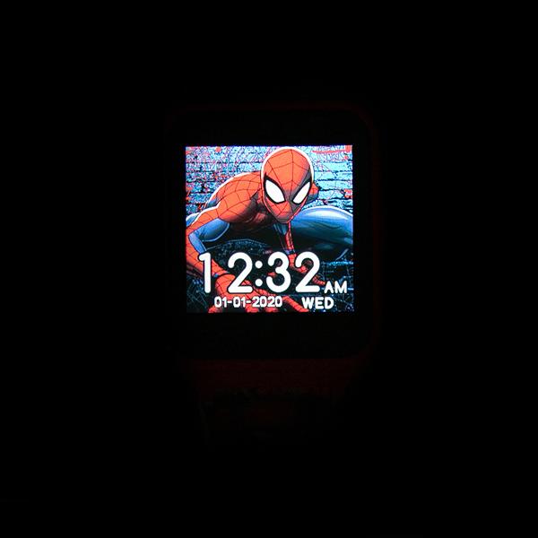 alternate view Marvel Spider-Man Interactive Watch - RedALT1B