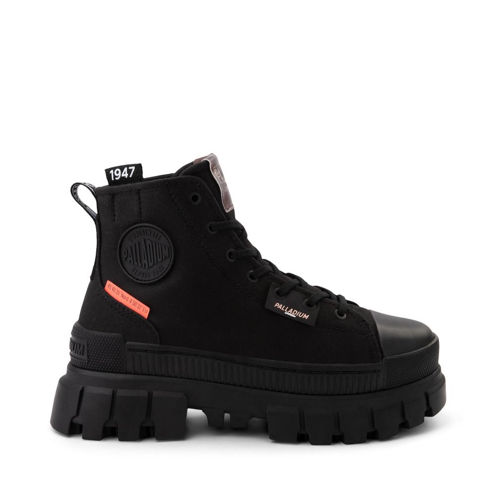 Womens Palladium Revolt Platform Boot - Black