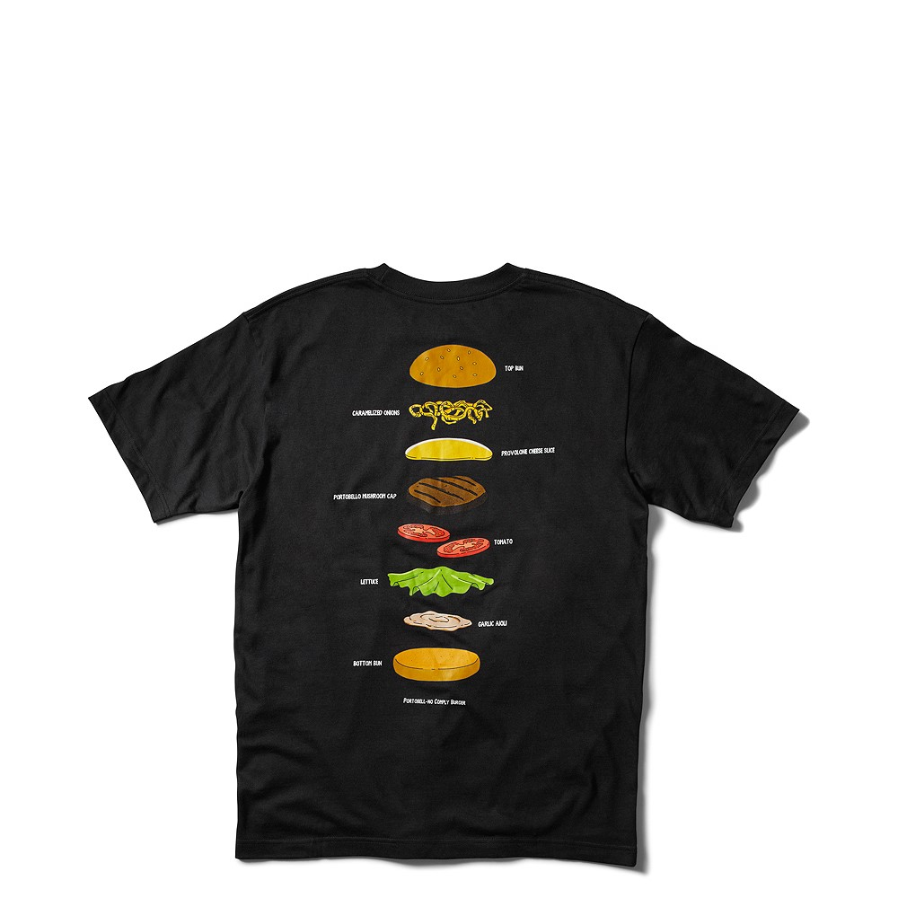Mens DC x Bob's Burgers Burger Of The Day Tee - Black