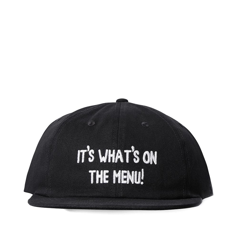 DC x Bob's Burgers It's What's On The Menu Snapback Cap - Black