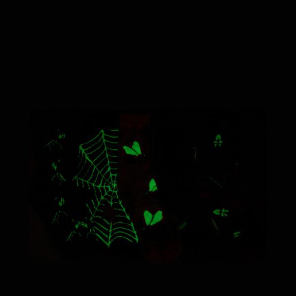 alternate view Buggy Glow Crew Socks 5 Pack - Little Kid - MulticolorALT1