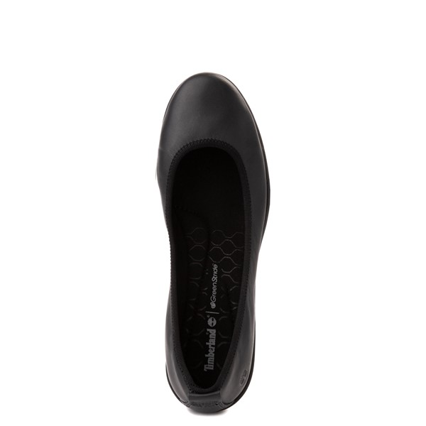 alternate view Womens Timberland Bradstreet Ultra Ballerina Flat - BlackALT2