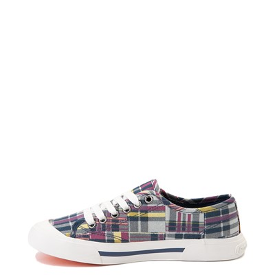 Alternate view of Womens Rocket Dog Jumpin Sneaker - Patchwork Plaid