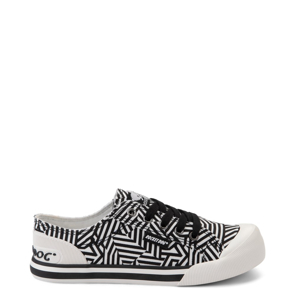 Womens Rocket Dog Jazzin Casual Shoe - Black / Abstract