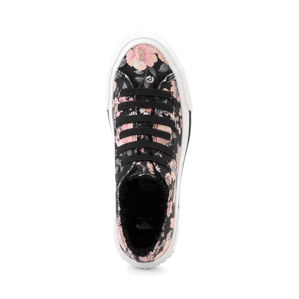 alternate view Womens Rocket Dog Jokes Slip On Sneaker - Black / FloralALT2
