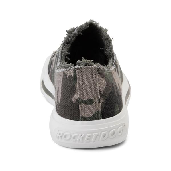 alternate view Womens Rocket Dog Jokes Slip On Sneaker - Soldier CamoALT4