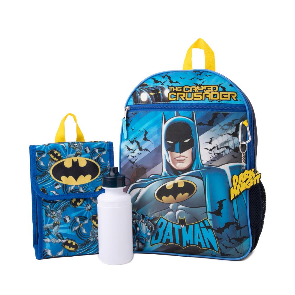 Batman Backpack Set - Blue