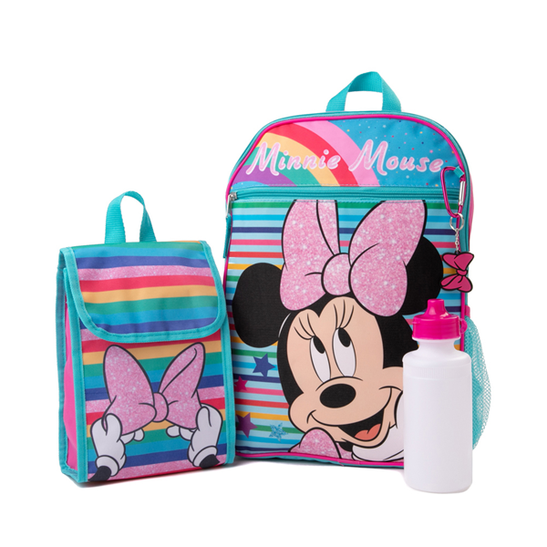 Minnie Mouse Backpack Set - Multicolor