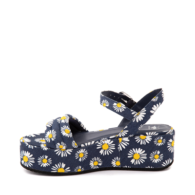Alternate view of Womens Rocket Dog Rally Platform Sandal - Navy / Daisy