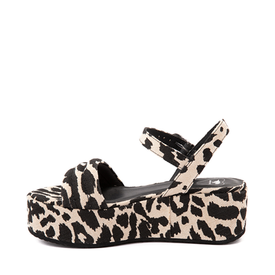 Alternate view of Womens Rocket Dog Rally Platform Sandal - Leopard