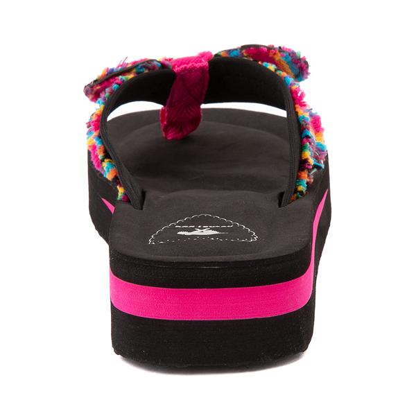 alternate view Womens Rocket Dog Warley Platform Sandal - Pink / MulticolorALT4
