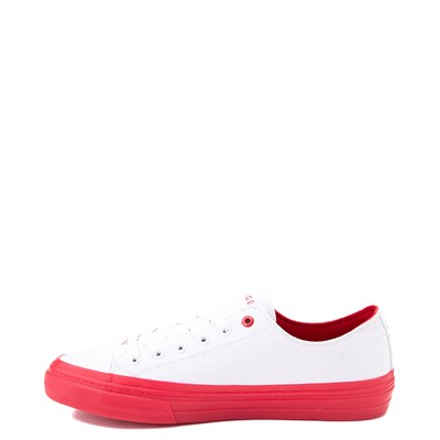Alternate view of Mens Tommy Hilfiger Reid Casual Shoe - White / Red