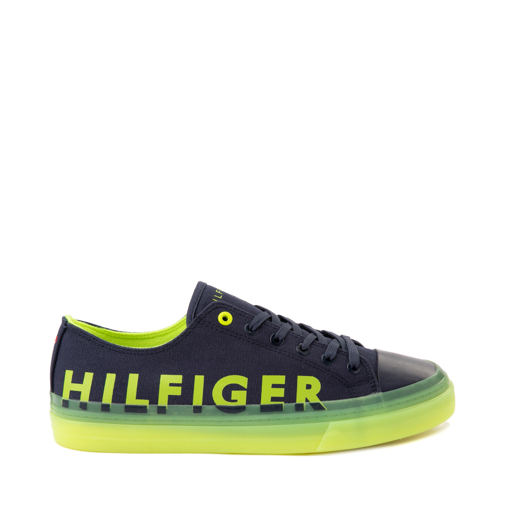 Mens Tommy Hilfiger Reid Casual Shoe - Navy / Yellow