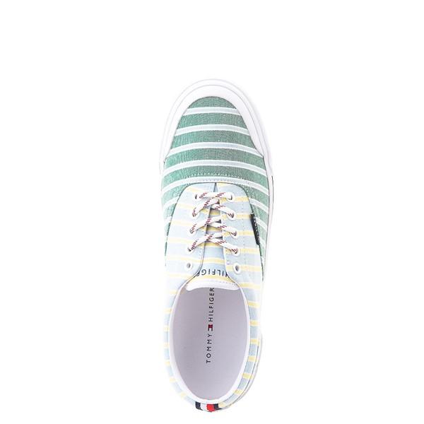 alternate view Mens Tommy Hilfiger Pallet Casual Shoe - Light Blue / Green / StripesALT2