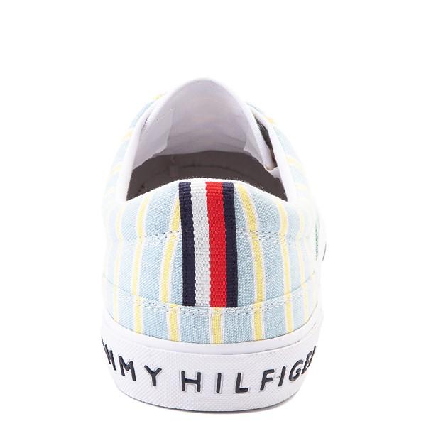 alternate view Mens Tommy Hilfiger Pallet Casual Shoe - Light Blue / Green / StripesALT4