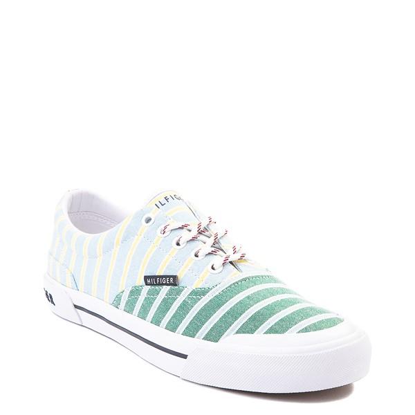 alternate view Mens Tommy Hilfiger Pallet Casual Shoe - Light Blue / Green / StripesALT5