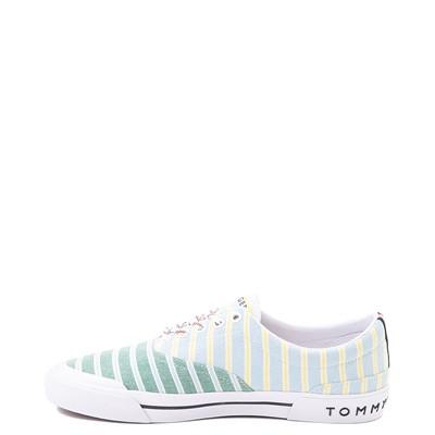Alternate view of Mens Tommy Hilfiger Pallet Casual Shoe - Light Blue / Green / Stripes