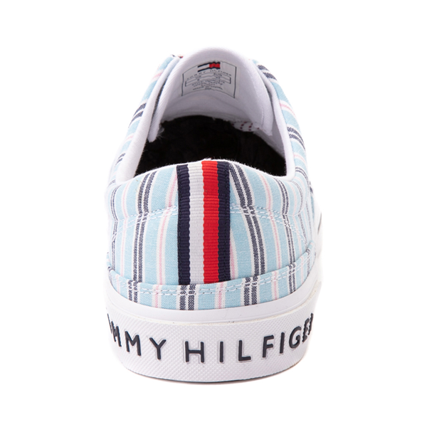 alternate view Mens Tommy Hilfiger Pallet Casual Shoe - Blue StripesALT4