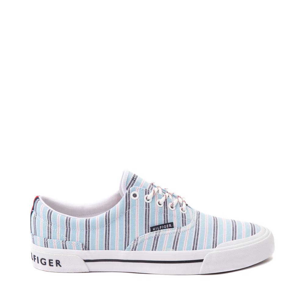 Mens Tommy Hilfiger Pallet Casual Shoe - Blue Stripes