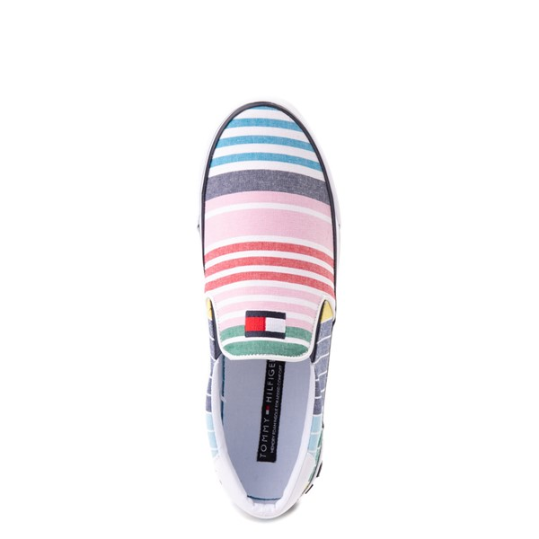 alternate view Mens Tommy Hilfiger Roaklyn Slip On Casual Shoe - MulticolorALT2