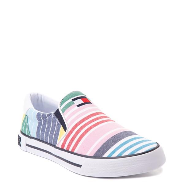 alternate view Mens Tommy Hilfiger Roaklyn Slip On Casual Shoe - MulticolorALT5
