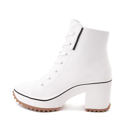 Alternate view of Womens MIA Brittnee Platform Sneaker Boot - White
