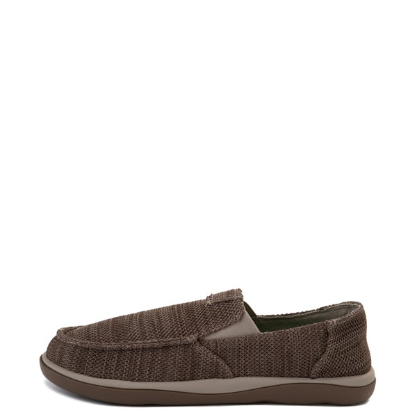 alternate view Mens Sanuk Vagabond Tripper Mesh Slip On Casual Shoe - Vintage KhakiALT1