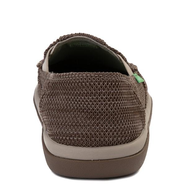 alternate view Mens Sanuk Vagabond Tripper Mesh Slip On Casual Shoe - Vintage KhakiALT4