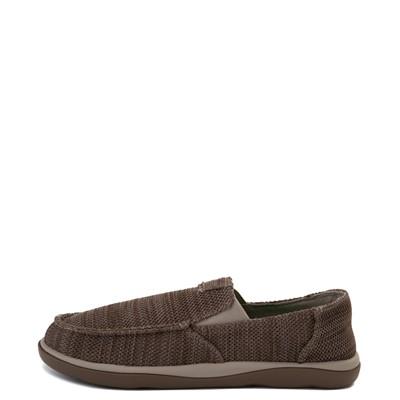 Alternate view of Mens Sanuk Vagabond Tripper Mesh Slip On Casual Shoe - Vintage Khaki