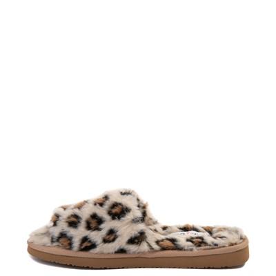 Alternate view of Womens Minnetonka Lolo Slipper - Leopard