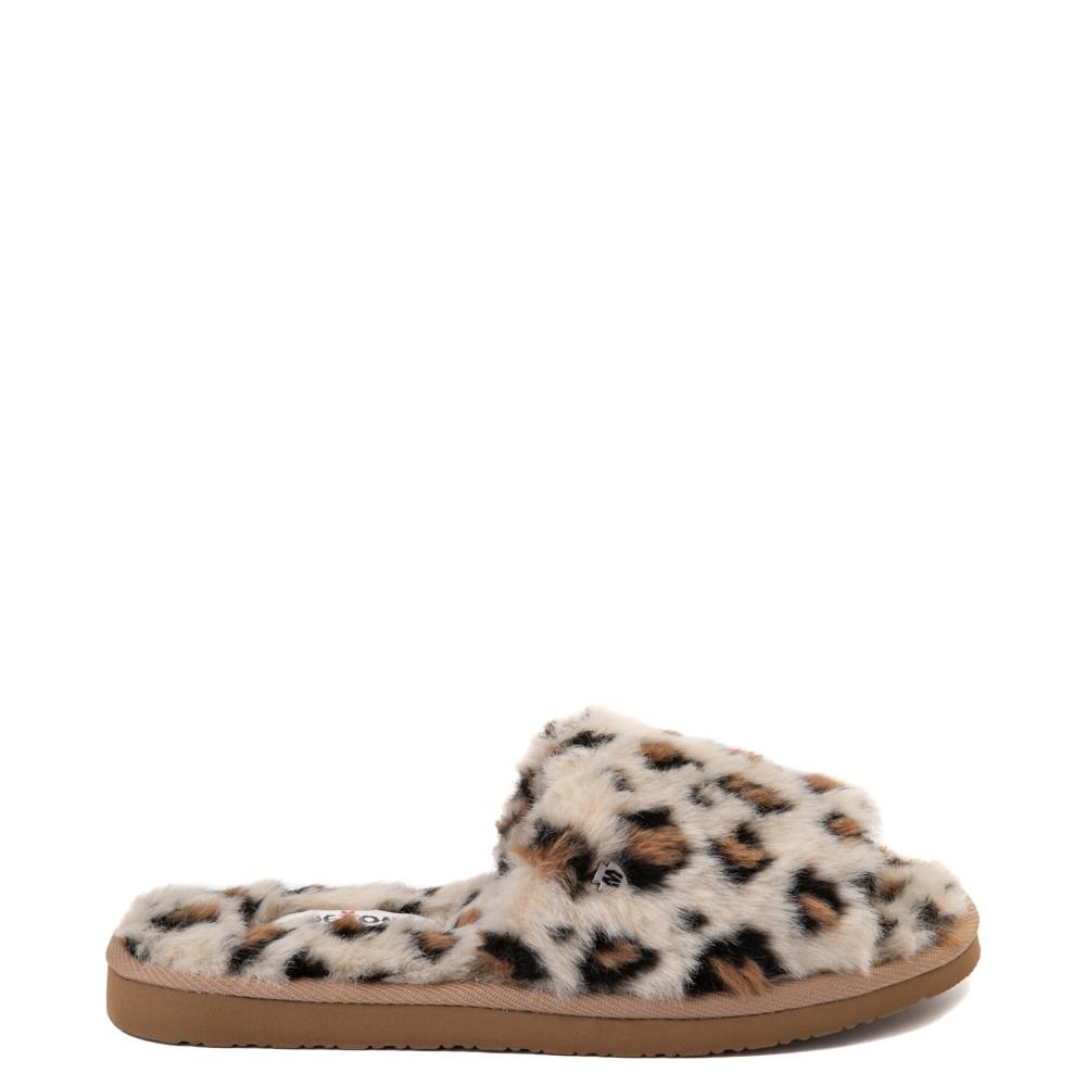 Womens Minnetonka Lolo Slipper - Leopard