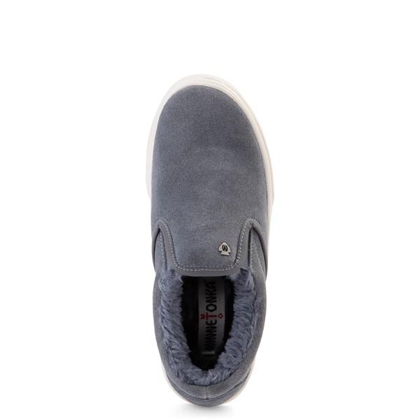 alternate view Womens Minnetonka Wilder Slip On Casual Shoe - Vintage BlueALT2