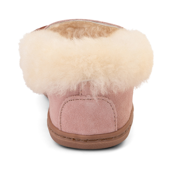 alternate view Womens Minnetonka Alpine Sheepskin Moc Casual Shoe - BlushALT4