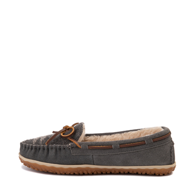 Alternate view of Womens Minnetonka Tilia Moccasin - Gray