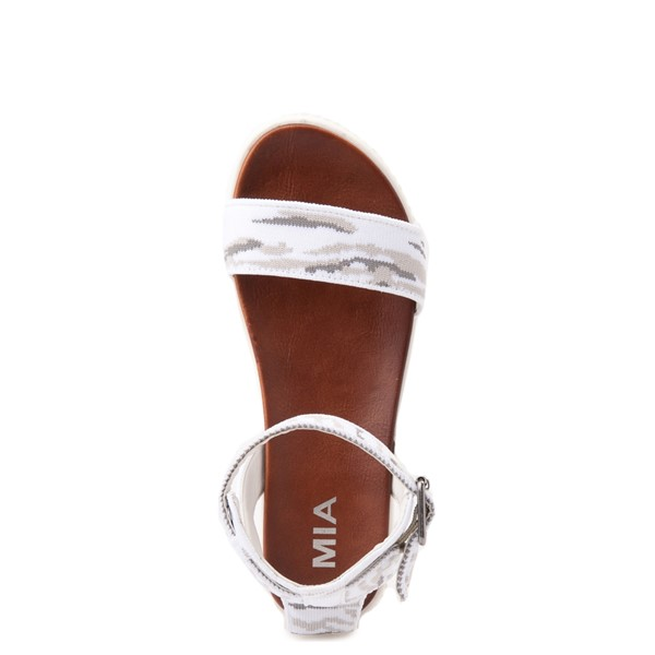 alternate view Womens MIA Lunna Sandal - Snow CamoALT2