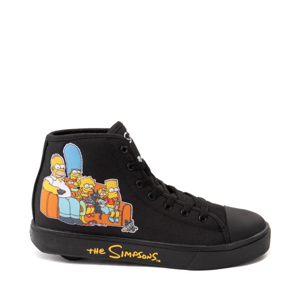 Main view of Mens Heelys x The Simpsons Hustle Skate Shoe - Black