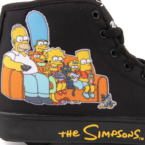 alternate view Mens Heelys x The Simpsons Hustle Skate Shoe - BlackALT1B